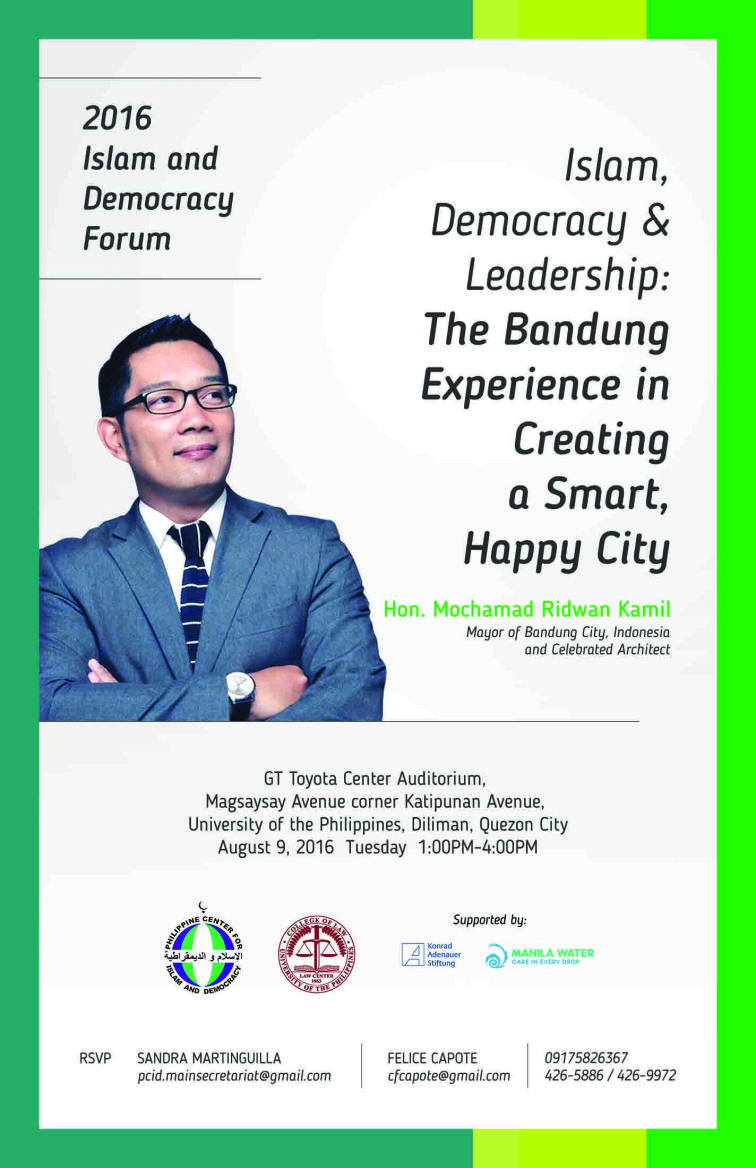 Islam, Democracy, and Leadership: The Bandung Experience in Creating a Smart, Happy City
